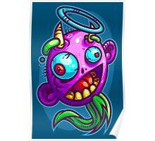 Derpy Devilish Angel Poster