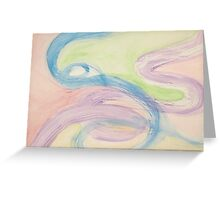 pastel storm Greeting Card