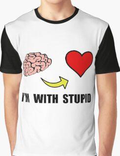Stupid Heart Graphic T-Shirt