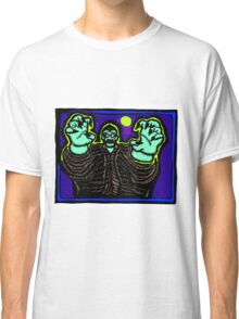 Zombie About to Brain You COLORIZED Classic T-Shirt