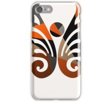 Butterfly Metallic Abstract iPhone Case/Skin