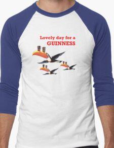 GUINESS LOVELY DAY FOR A GUINNESS Men's Baseball ¾ T-Shirt