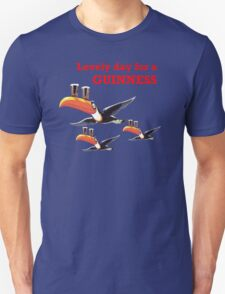 GUINESS LOVELY DAY FOR A GUINNESS Unisex T-Shirt