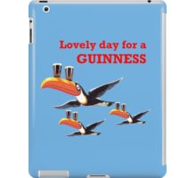GUINESS LOVELY DAY FOR A GUINNESS iPad Case/Skin