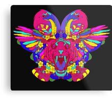 Psychedelic animal mashup Metal Print