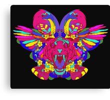 Psychedelic animal mashup Canvas Print