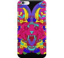Psychedelic animal mashup iPhone Case/Skin