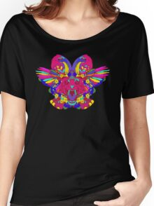 Psychedelic animal mashup Women's Relaxed Fit T-Shirt