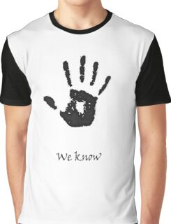 """""""We Know"""" Graphic T-Shirt"""