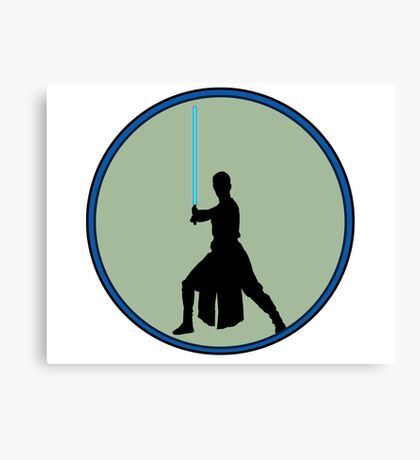 A new Jedi for a new generation! Canvas Print