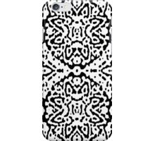 Black and White Puffs iPhone Case/Skin