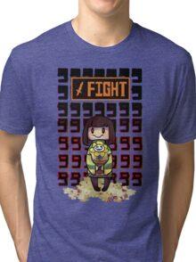 Undertale- Fight Tri-blend T-Shirt