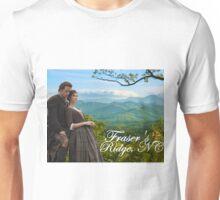 Outlander/Jamie & Claire on Fraser's Ridge. Unisex T-Shirt