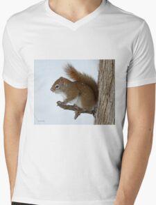 On alert Mens V-Neck T-Shirt