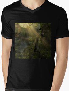 Valhalla Lights - Rise Above Mens V-Neck T-Shirt