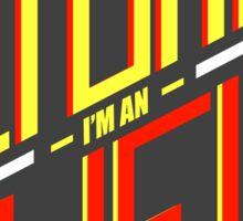 Actually I'm an Atheist by Tai's Tees Sticker