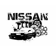 NISSAN SENTRA B13  Photographic Print