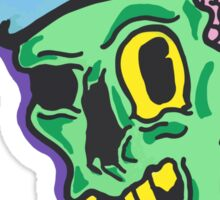 Skater Trucker Zombie Guy Sticker
