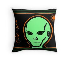 EBEN Mug COLORIZED GREENORANGE Throw Pillow