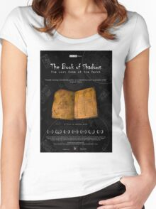 The Book of Shadows - The film poster Women's Fitted Scoop T-Shirt