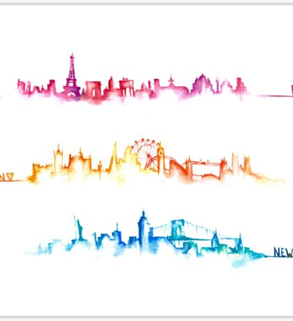 Skylines Sticker