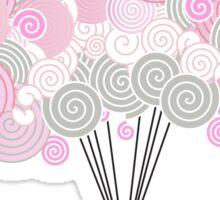 Cute Pink Cartoon Elephant Sticker