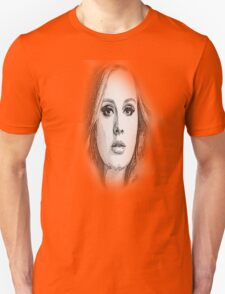 ADELE SKETCH Unisex T-Shirt