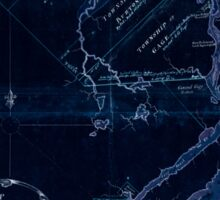 American Revolutionary War Era Maps 1750-1786 609 Map of the River St John in the Province of Nova Scotia exhibiting the grant to officers &c in 1765 with Inverted Sticker