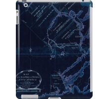 American Revolutionary War Era Maps 1750-1786 609 Map of the River St John in the Province of Nova Scotia exhibiting the grant to officers &c in 1765 with Inverted iPad Case/Skin