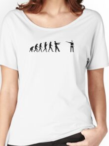 The Walking Dead Inspired Evolution of Zombie Women's Relaxed Fit T-Shirt