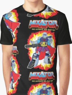 MIXATOR, The Ultimate 80s Bad Guy! Graphic T-Shirt