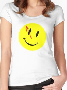 The Watchmen Movie Comedian Women's Fitted Scoop T-Shirt