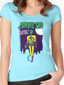 Zombie Lad - Pack Of Heroes Women's Fitted Scoop T-Shirt