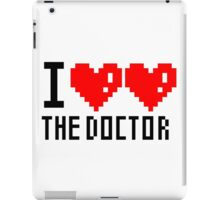 I heart heart the doctor iPad Case/Skin