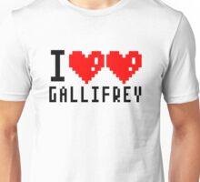 I heart heart gallifrey Unisex T-Shirt