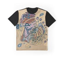 Abstract Face 2 Graphic T-Shirt