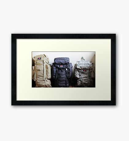 Time For An Adventure Framed Print