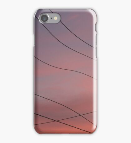 wires photograph iPhone Case/Skin