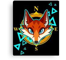 Fox Head Canvas Print