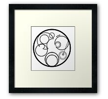 Time Lord Symbol Framed Print