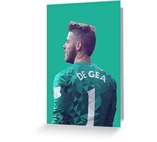 David De Gea - Manchester United Greeting Card