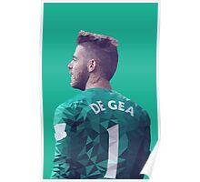 David De Gea - Manchester United Poster