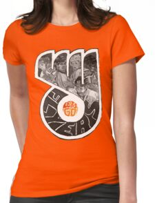 Lets Go Flyers Womens Fitted T-Shirt