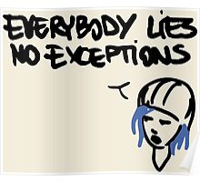 Chloe Price- Everybody Lies Poster