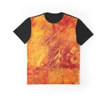 Earth Patterns 3 - Autumn Gold Graphic T-Shirt