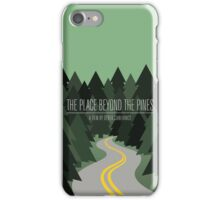 The Place Beyond The Pines film poster iPhone Case/Skin