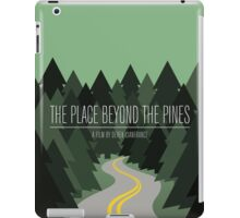 The Place Beyond The Pines film poster iPad Case/Skin