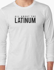 Star Trek - All About The Latinum - Black Clean Long Sleeve T-Shirt