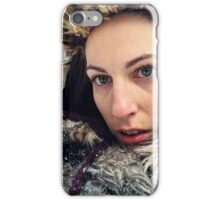 Portrait of an Adventurer II iPhone Case/Skin
