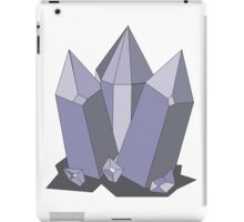 Amethyst Crystals iPad Case/Skin